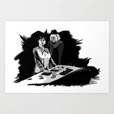 1rst Doctor & Susan... Art Print