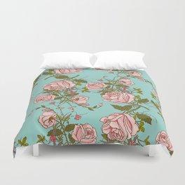 beautiful roses Duvet Cover