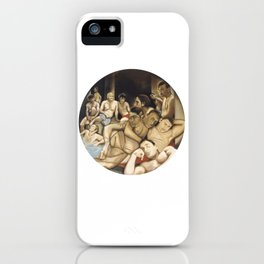 Le bain turc (after Ingres) iPhone Case