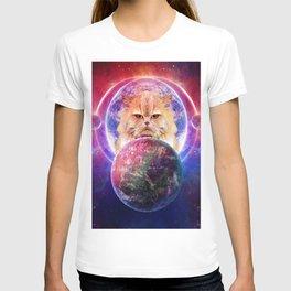 King Cat Galaxy T-shirt