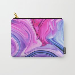 Marble Pastel / Melting Marble Carry-All Pouch