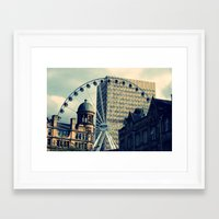 manchester Framed Art Prints featuring Manchester by JTRumley