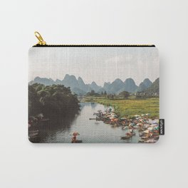 River bank scenic beauty Carry-All Pouch