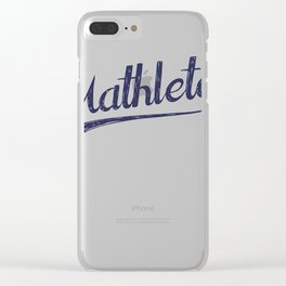 All Star Mathlete Math Athlete Clear iPhone Case