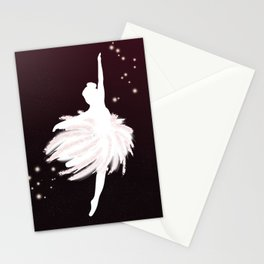 Space Ballerina (1 of 3) Stationery Cards