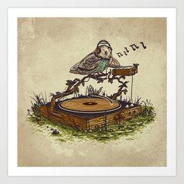 wood vinyl Art Print