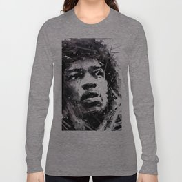 Jimmi Hendrix Long Sleeve T-shirt