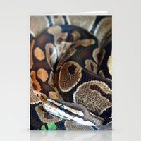 monty python Stationery Cards featuring Python by GardenGnomePhotography