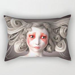 Japanese fashion model Rectangular Pillow