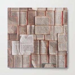 Books, Reading & Read Metal Print