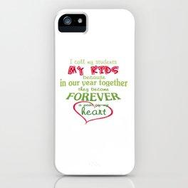 Teacher - My Students iPhone Case