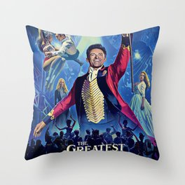The Greatest Showman Poster Throw Pillow