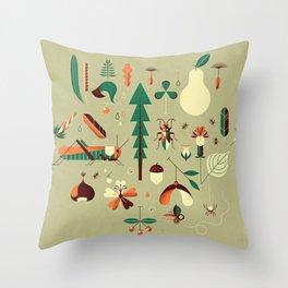 Countrylife #2 — Grass Throw Pillow