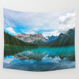 The Mountains and Blue Water - Nature Photography Wall Tapestry