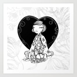 French! French! French! Art Print
