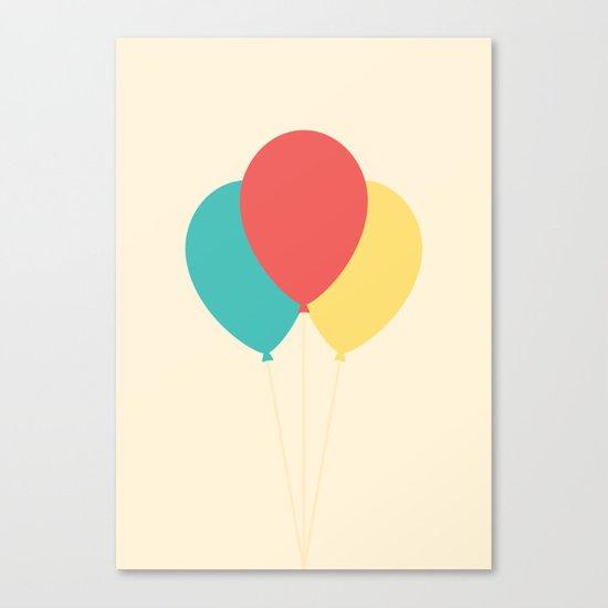 #45 Balloons Canvas Print