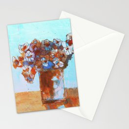 Winter's Vase Stationery Cards