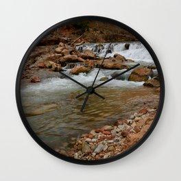 Virgin_River Falls 0898 - Zion Court Wall Clock