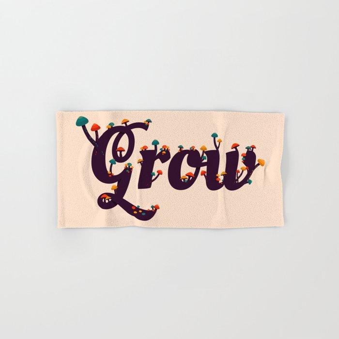 Grow Hand & Bath Towel