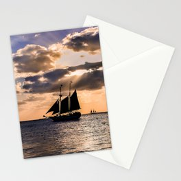 Sunset in Key West, Florida Stationery Cards