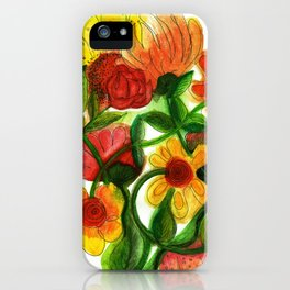 Flowers to Daniel iPhone Case