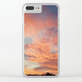 Beautiful sunset Clear iPhone Case