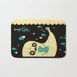 Panda Seal Bath Mat