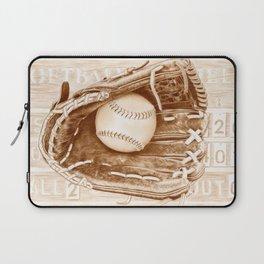 Softball Laptop Sleeve
