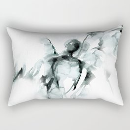 Angel Abstract No.105B by Kathy Morton Stanion Rectangular Pillow