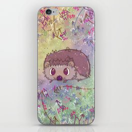 Happiest Little Hedgehog iPhone Skin