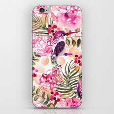 Hummingbird Garden iPhone & iPod Skin