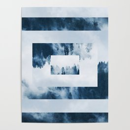 Forest GeoMetric Poster