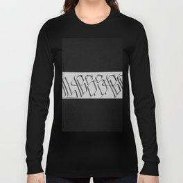 Old English Grafitti Handstylez Long Sleeve T-shirt