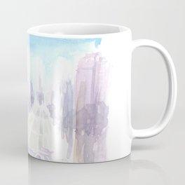 Edinburgh Street Scene in Early Morning Dusk Coffee Mug