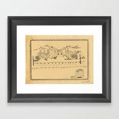 Creative Village Framed Art Print