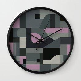 Langley Tex Wall Clock