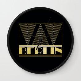 Berlin Germany Art Deco Wall Clock