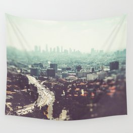 Los Angeles, beach,ocean, surf, downtown, Cali, SoCal, west coast Wall Tapestry