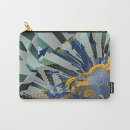 Vector Cubism Carry-All Pouch