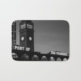 Port Of San Francisco Bath Mat