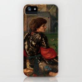 """Edward Burne-Jones """"The Love Song"""" iPhone Case"""