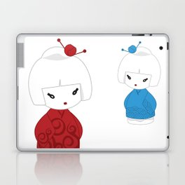 Japanese dolls Laptop & iPad Skin