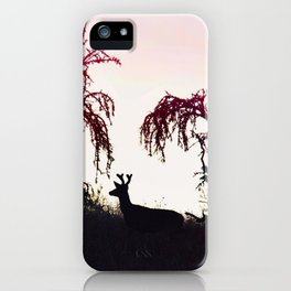 Silhouette Game Strong iPhone Case