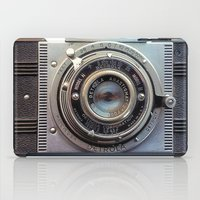 aperture iPad Cases featuring Detrola (Vintage Camera) by RichCaspian