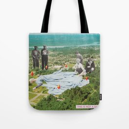 THIS IS NOT A DREAM Tote Bag