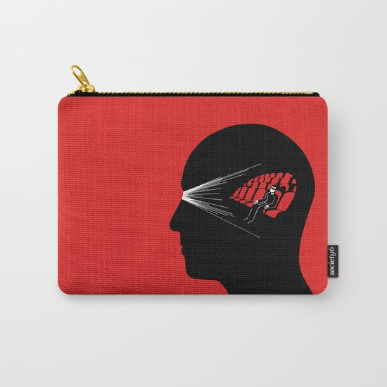 One Man Movie Theatre Carry-All Pouch