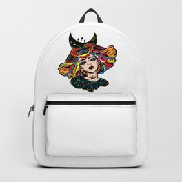Vampiric Witch Goddess (Painting) Backpack
