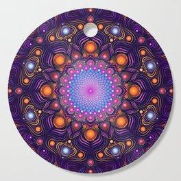"""""""Guardian"""" Mandala painting Cutting Board"""