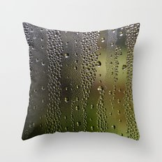 Droplet Landscape I Throw Pillow