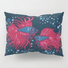 Fighting fish Pillow Sham